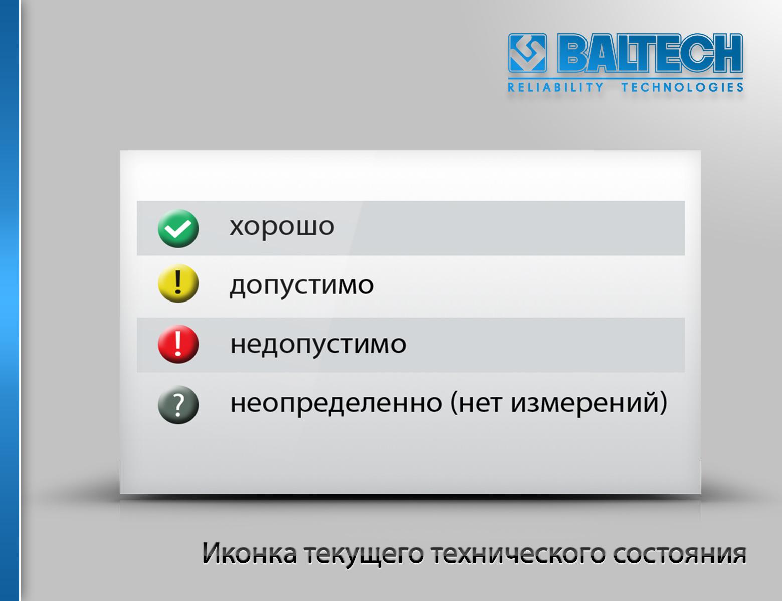 Программное обеспечение BALTECH-Expert, вибродиагностика, анализ термограмм, отчет по центровке