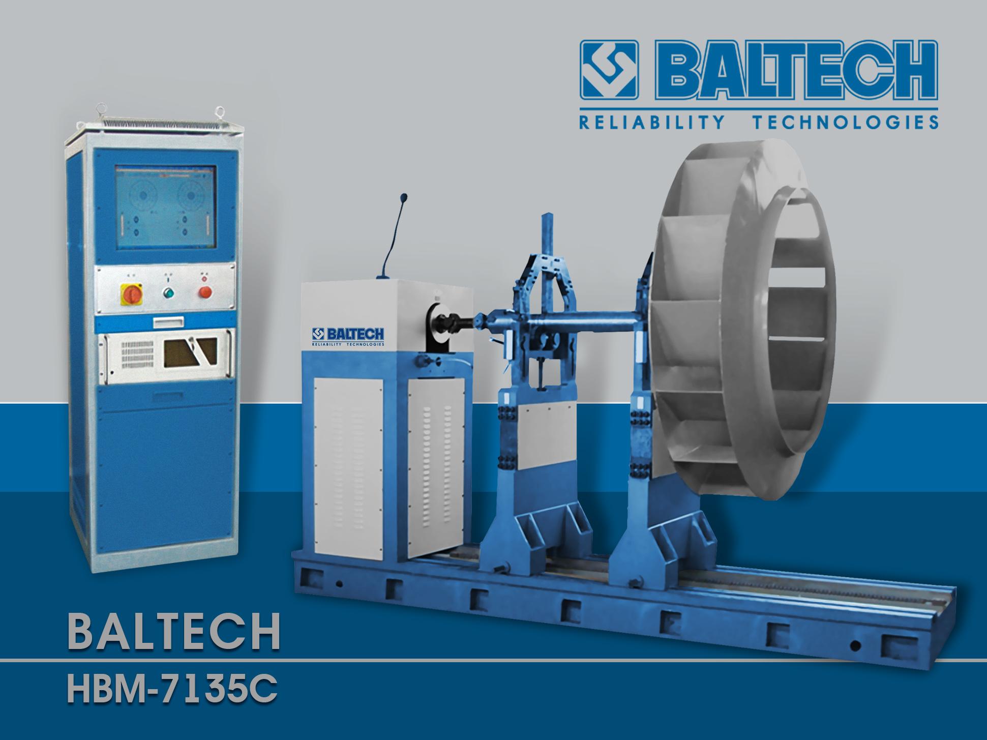 BALTECH HBM-7135C, Балансировка ротора, вибродиагностика и балансировка, дисбаланс ротора, виброналадка, фаза вибрации