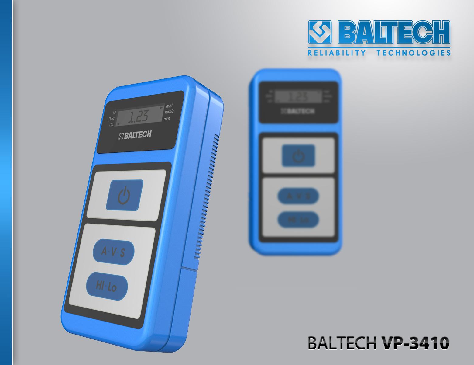 Вибромониторинг, вибромониторинг оборудования, вибромониторинг состояния, BALTECH VP-3410